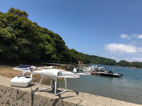 淡島神社空撮業務