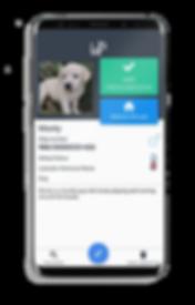 Chipmypet found puppy app
