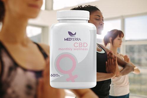 Medterra Monthly Wellness Capsule  25mg