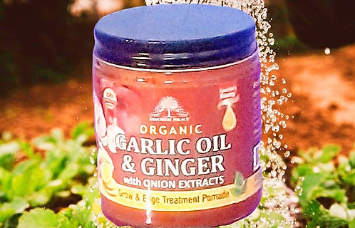 Garlic Oil & Ginger Organic Hair Pomade
