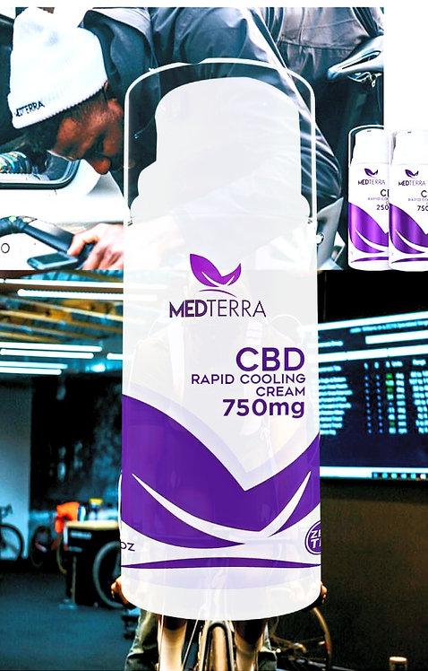 Medterra CBD Topical Cooling Creams (250/750 mg)