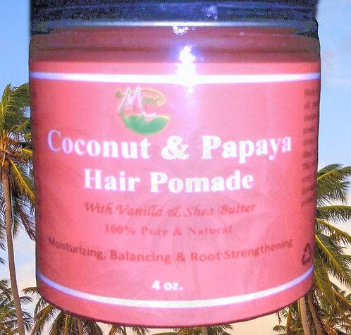 Coconut & Papaya Hair Pomade