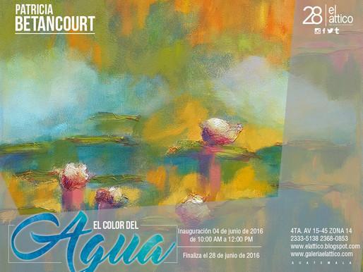 "Patricia Betancourt ""El color del Agua"""