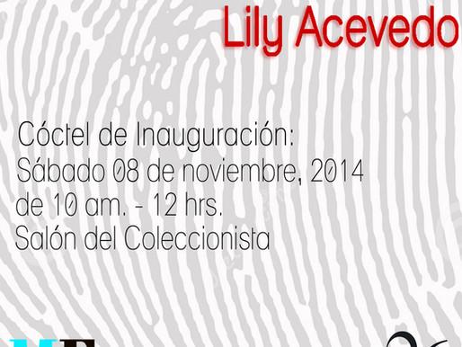 """Lily Acevedo """"Huellas"""""""