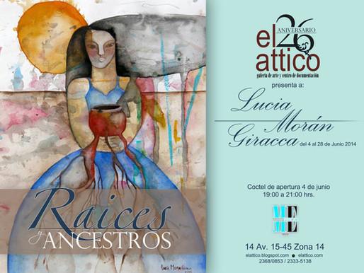 """Lucía Moran Giracca """"Raices y Ancestros"""""""