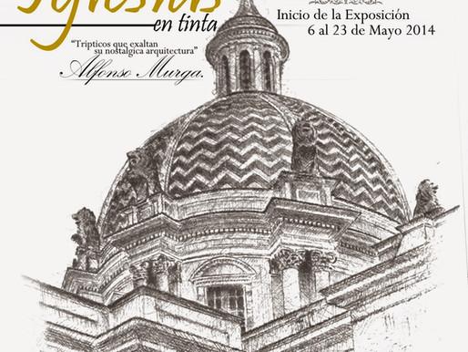 """Alfonso Murga """"Nuestras Iglesias en tinta"""""""