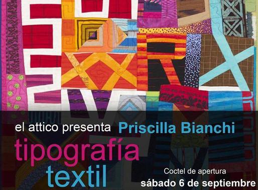 """Priscilla Bianchi """"Tipografía Textil"""""""
