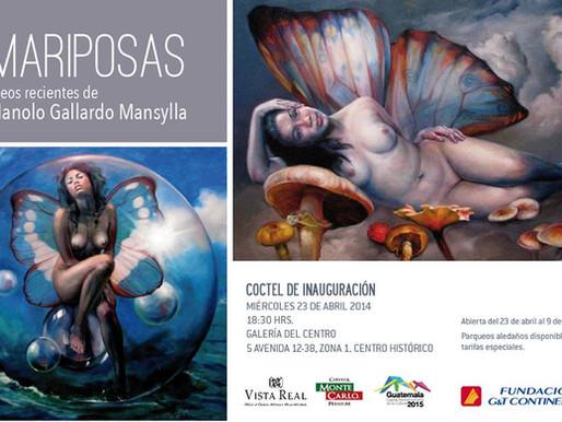 """""""Mariposas"""" Manolo Gallardo"""