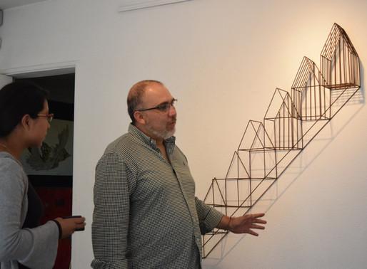 """Alejandro Leal y su exposición """"MARTE"""""""