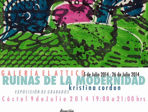 """Kristina Cordón """"Ruinas de la Modernidad"""""""