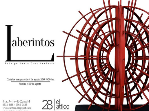 "Rodrigo Santa Cruz ""Laberintos"""