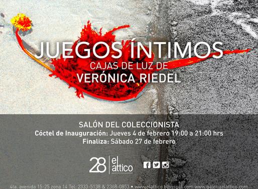 """Verónica Riedel """"Juegos Íntimos"""""""