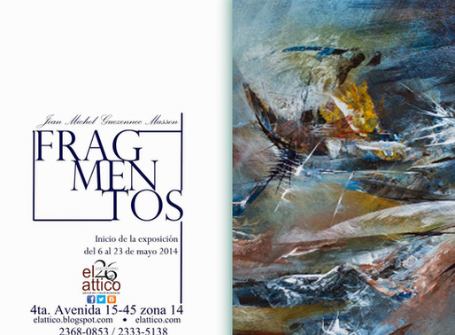 """Fragmentos"" Jean Michel Guezennec"
