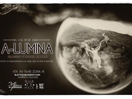 """A-lumina"" Claudio Vásquez Bianchi"
