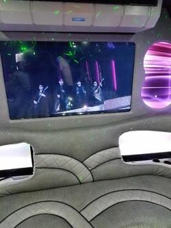 Luxurious Party Bus Interior
