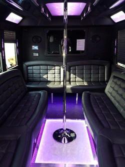 Party Bus Interior