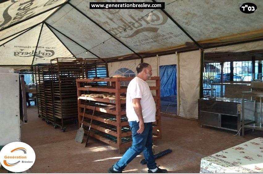Les derniers préparatifs de cette semaine pour Roch Hachana 2018 a Ouman