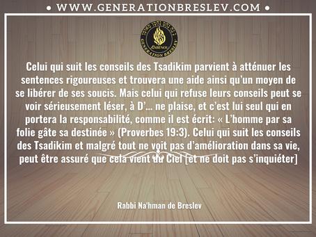 Conseils - Rabbi Nahman de Breslev Et si vous les suiviez…