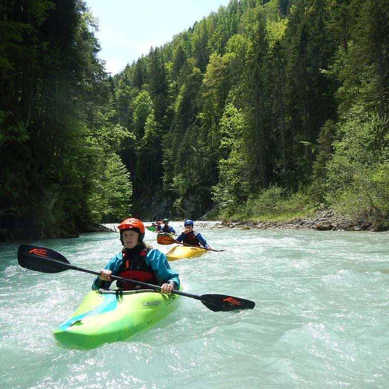 Wildwassertour nach Garmisch