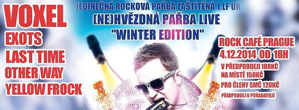 Koncert Other Way 4. 12. 2014 (NE)HVĚZDNÁ PAŘBA Rock Café Praha
