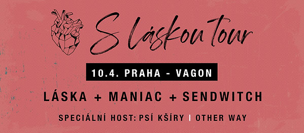 S láskou tour 10. 4. 2020 Praha Other Way