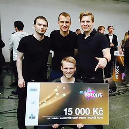 Kapela Other Way vyhrála soutěž VŠE Hledá Talent