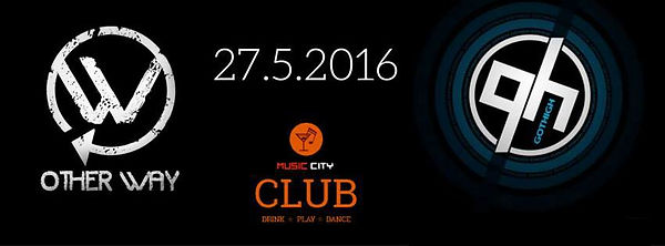 Koncert Other Way 27. 5. 2016 Music City Club Praha
