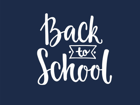 Monday 6th September - First Day of Term