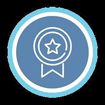 BTEC blue and white award logo
