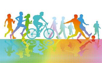 multicolour sports image
