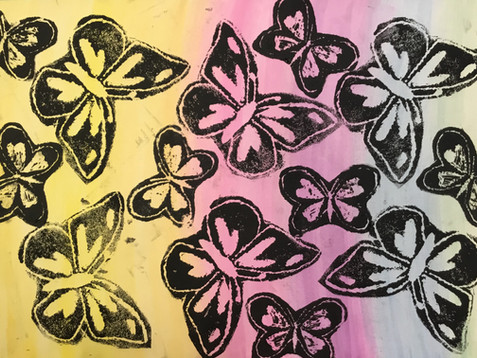 Art - Printing, Graffiti and Stencilling