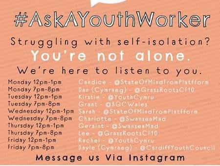 #AskAYouthWorker
