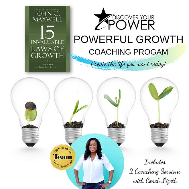 POWERFUL GROWTH COACHING PROGAM cover ne