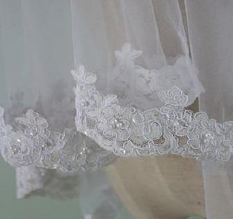 Wedding Veil - Lace trim.JPG