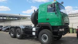 Шасси МАЗ-МАН 6х6