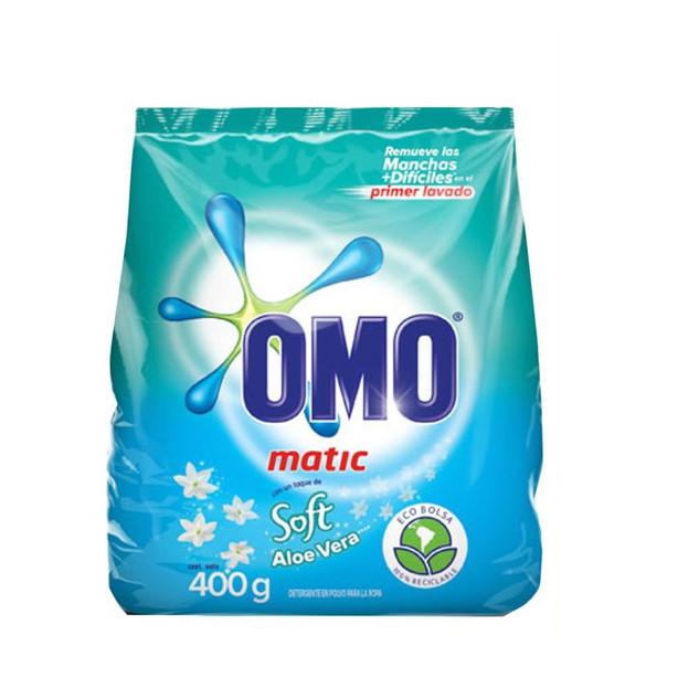 Detergente Omo c/ soft 400gr