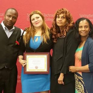 1st Scholarship Recipient- May 2015