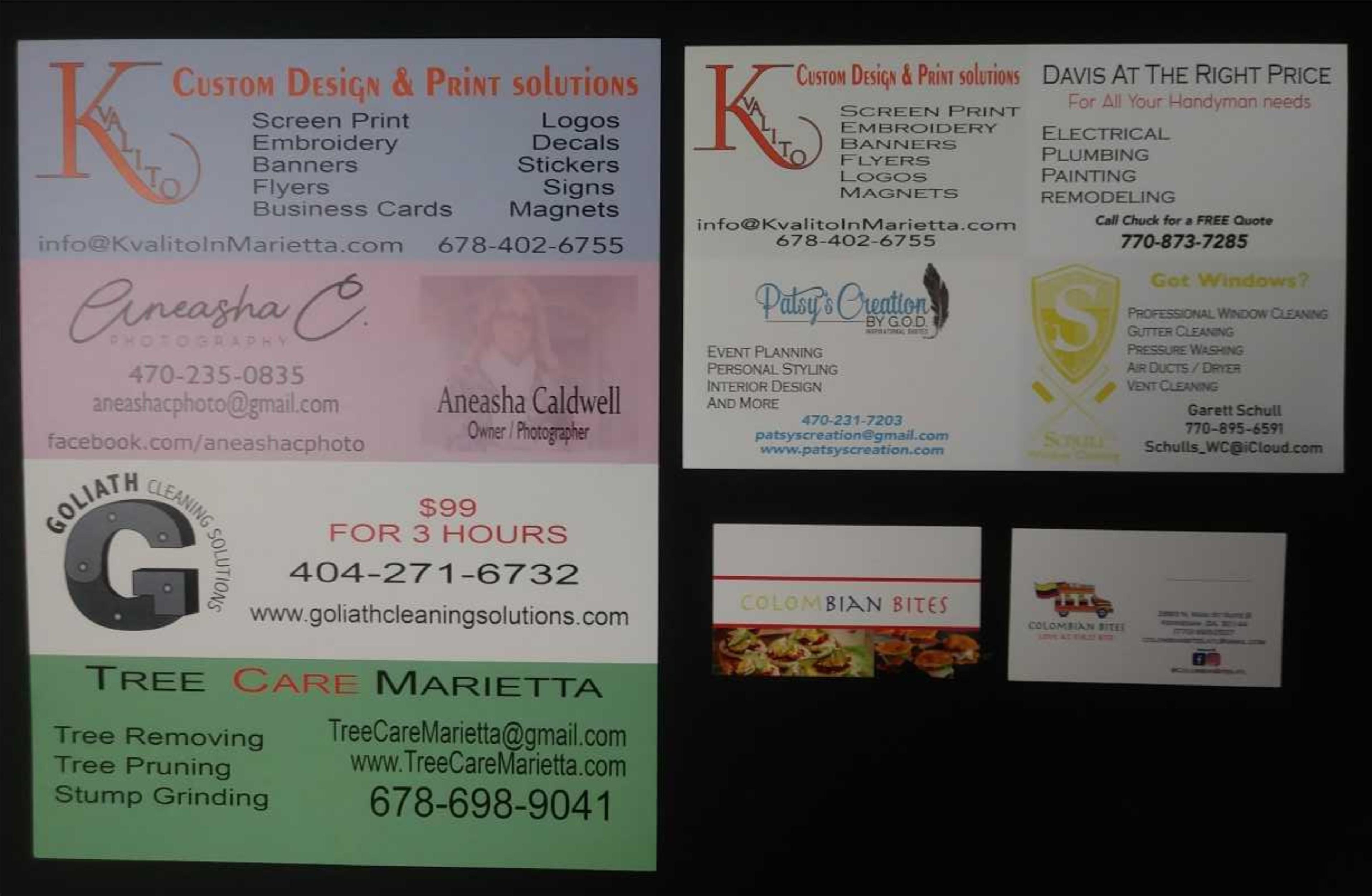 Kvalito offers Custom Design and Print solutions, check our Portfolio
