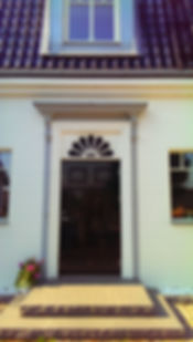 "Dörromfattning ""10 Downing Street"""