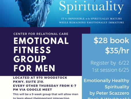 CRC Atlanta, GA: Emotional Fitness Group for Men