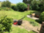 Gardening lawn mowing