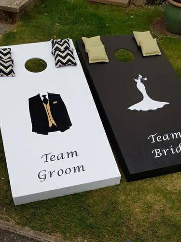 Team Bride vs Team Groom Large size