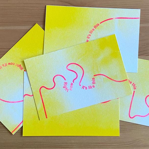 Risograph Postcards