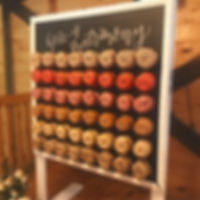 donu wall for parties evets weddings