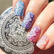 1-Pc-BORN-PRETTY-Round-5-5cm-Nail-font-b