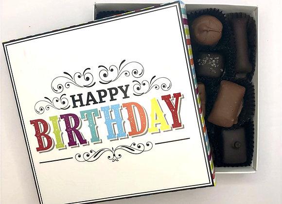 Happy Birthday Chocolate Box