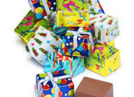 Milk Chocolate Foil Presents