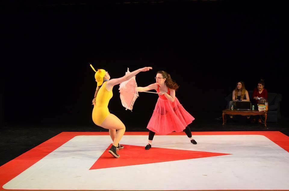 Stage Combat/Princess Peach