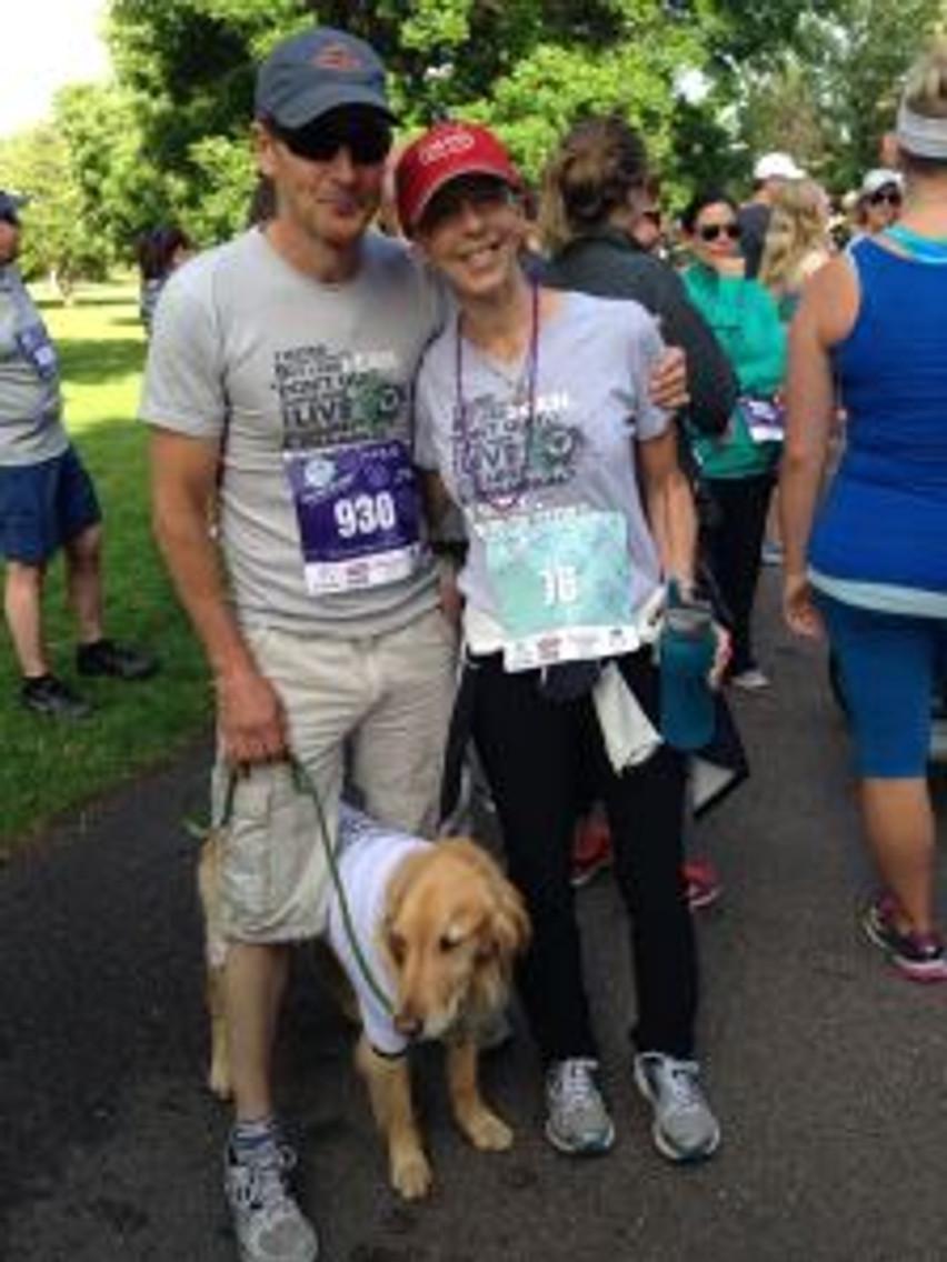3 wks post chemo, walked 3.1 miles for OC awareness