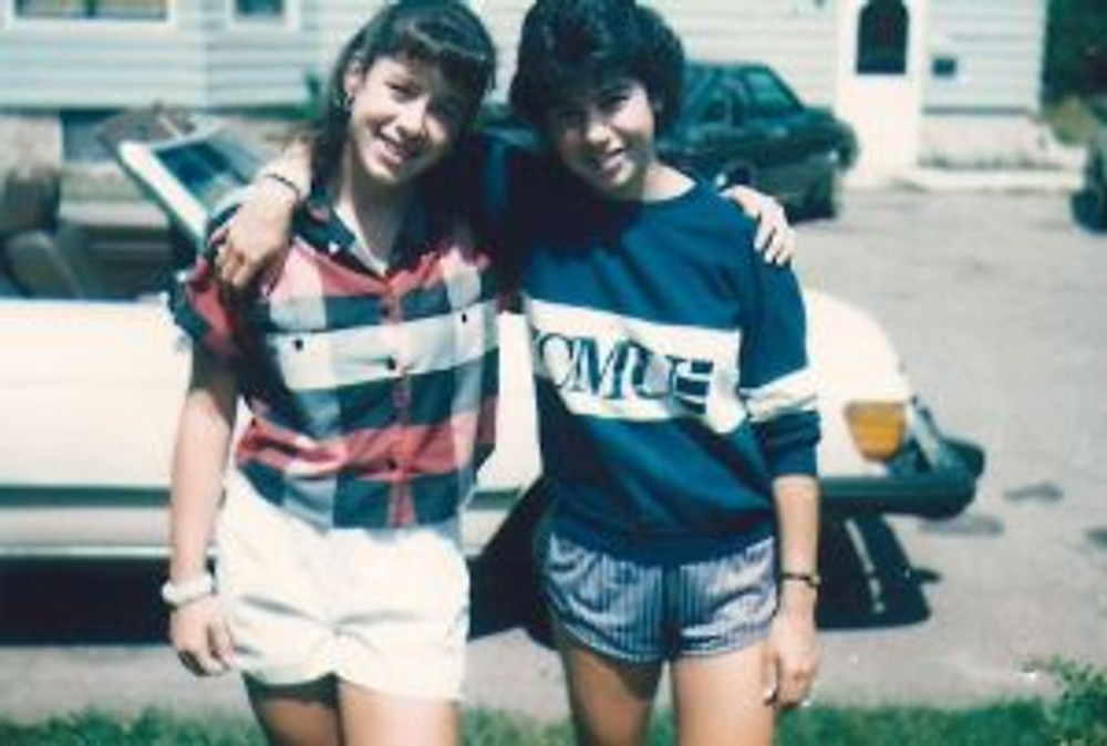 Summer after Senior Yr High School with my sister.